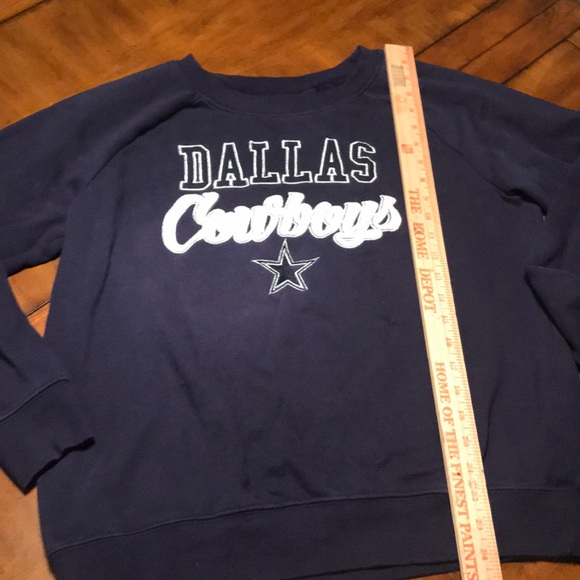 newest collection 35a0e e1ad9 Ladies Dallas Cowboys sweatshirt size large